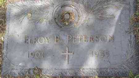 PETERSON, ELROY BERNARD - Yavapai County, Arizona | ELROY BERNARD PETERSON - Arizona Gravestone Photos