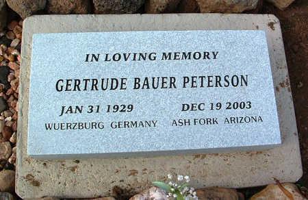 PETERSON, GERTRUDE - Yavapai County, Arizona | GERTRUDE PETERSON - Arizona Gravestone Photos