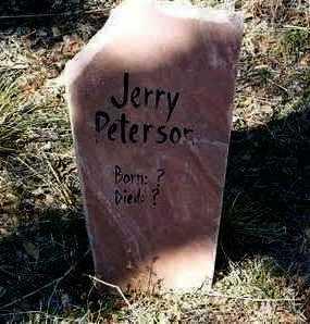 PETERSON, JERRY - Yavapai County, Arizona | JERRY PETERSON - Arizona Gravestone Photos