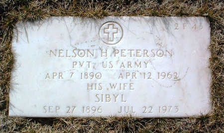 PETERSON, NELSON HARVEY - Yavapai County, Arizona | NELSON HARVEY PETERSON - Arizona Gravestone Photos