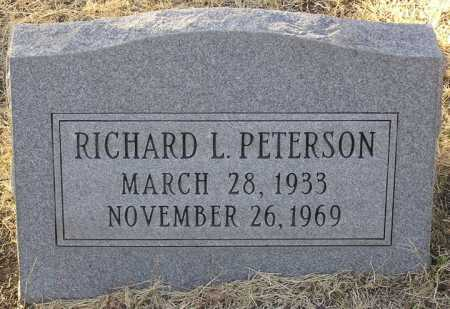 PETERSON, RICHARD L. - Yavapai County, Arizona | RICHARD L. PETERSON - Arizona Gravestone Photos