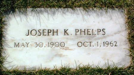 PHELPS, JOSEPH KENYON - Yavapai County, Arizona | JOSEPH KENYON PHELPS - Arizona Gravestone Photos