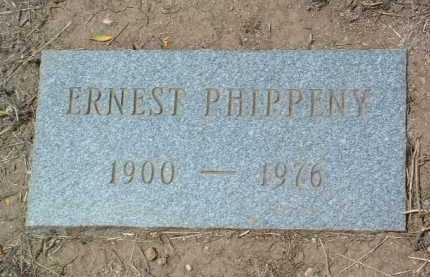 PHIPPENY, ERNEST ROBERT - Yavapai County, Arizona | ERNEST ROBERT PHIPPENY - Arizona Gravestone Photos