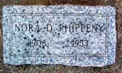 HENDRICKSON PHIPPENY, NORA D. - Yavapai County, Arizona | NORA D. HENDRICKSON PHIPPENY - Arizona Gravestone Photos