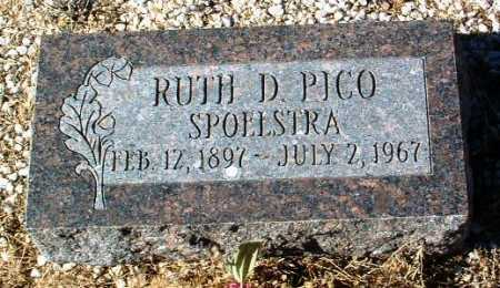 PICO SPOLESTRA, RUTH D. - Yavapai County, Arizona | RUTH D. PICO SPOLESTRA - Arizona Gravestone Photos