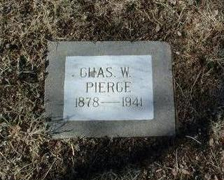 PIERCE, CHARLES WALTER - Yavapai County, Arizona | CHARLES WALTER PIERCE - Arizona Gravestone Photos