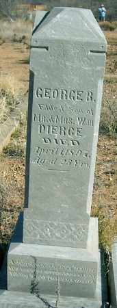 PIERCE, GEORGE BURSEY - Yavapai County, Arizona | GEORGE BURSEY PIERCE - Arizona Gravestone Photos