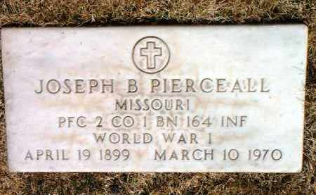 PIERCEALL, JOSEPH B. - Yavapai County, Arizona | JOSEPH B. PIERCEALL - Arizona Gravestone Photos