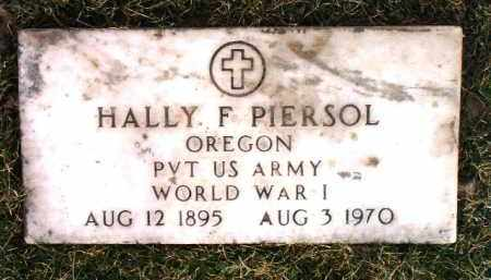 PIERSOL, HALDEAN FLOYD (HALLY) - Yavapai County, Arizona | HALDEAN FLOYD (HALLY) PIERSOL - Arizona Gravestone Photos