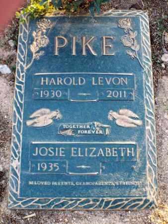 PIKE, HAROLD LEVON - Yavapai County, Arizona | HAROLD LEVON PIKE - Arizona Gravestone Photos