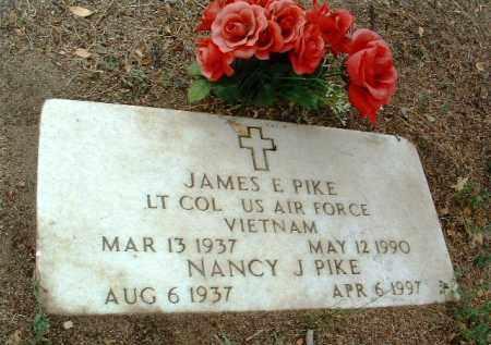 PIKE, JAMES E. - Yavapai County, Arizona | JAMES E. PIKE - Arizona Gravestone Photos