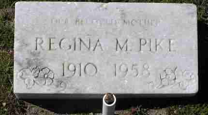 PIKE, REGINA MARGARET - Yavapai County, Arizona | REGINA MARGARET PIKE - Arizona Gravestone Photos