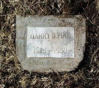 PINE, HARRY BLANC - Yavapai County, Arizona   HARRY BLANC PINE - Arizona Gravestone Photos