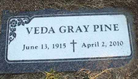 PINE, VEDA MYRTLE - Yavapai County, Arizona | VEDA MYRTLE PINE - Arizona Gravestone Photos