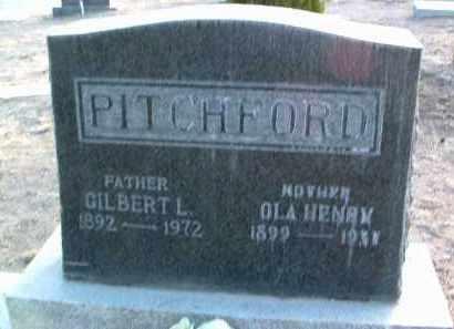 PITCHFORD, GILBERT - Yavapai County, Arizona | GILBERT PITCHFORD - Arizona Gravestone Photos