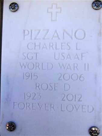 PIZZANO, CHARLES L. - Yavapai County, Arizona | CHARLES L. PIZZANO - Arizona Gravestone Photos