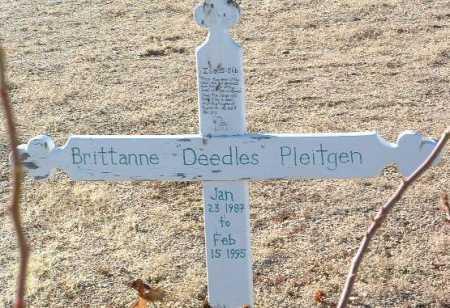 PLEITGEN, BRITTANNE (DEEDLES) - Yavapai County, Arizona   BRITTANNE (DEEDLES) PLEITGEN - Arizona Gravestone Photos