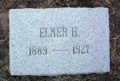 PLUMMER, ELMER HILL - Yavapai County, Arizona   ELMER HILL PLUMMER - Arizona Gravestone Photos