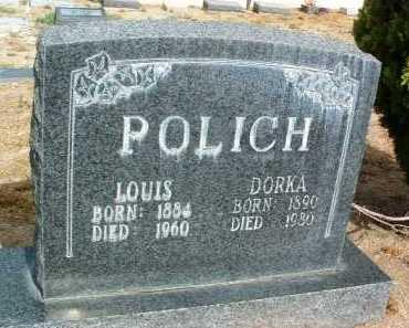 KAULZARICH POLICH, DORKA /DOLKA /DORA - Yavapai County, Arizona   DORKA /DOLKA /DORA KAULZARICH POLICH - Arizona Gravestone Photos