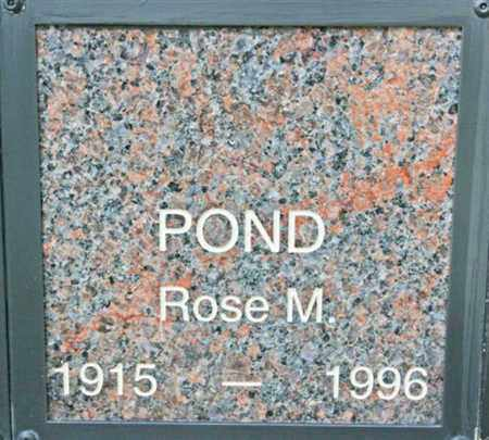 POND, ROSE MADELINE - Yavapai County, Arizona | ROSE MADELINE POND - Arizona Gravestone Photos
