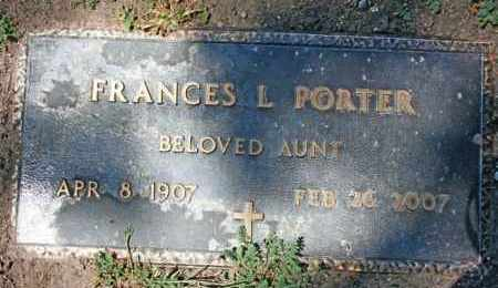 PORTER, FRANCES LENORA - Yavapai County, Arizona | FRANCES LENORA PORTER - Arizona Gravestone Photos