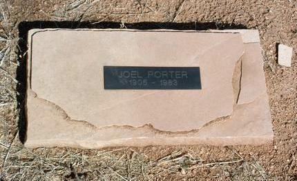PORTER, JOEL C. - Yavapai County, Arizona | JOEL C. PORTER - Arizona Gravestone Photos