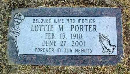 PORTER, LUELLA MAE (LOTTIE) - Yavapai County, Arizona | LUELLA MAE (LOTTIE) PORTER - Arizona Gravestone Photos