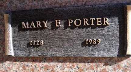 PORTER, MARY FRANCES - Yavapai County, Arizona | MARY FRANCES PORTER - Arizona Gravestone Photos