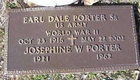 WHITTIER PORTER, J. W. - Yavapai County, Arizona | J. W. WHITTIER PORTER - Arizona Gravestone Photos