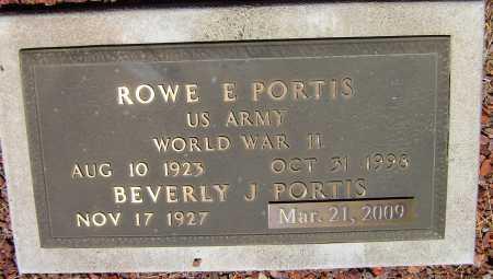 PORTIS, BEVERLY J. - Yavapai County, Arizona | BEVERLY J. PORTIS - Arizona Gravestone Photos