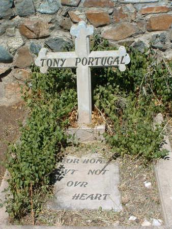 PORTUGAL, TONY - Yavapai County, Arizona | TONY PORTUGAL - Arizona Gravestone Photos