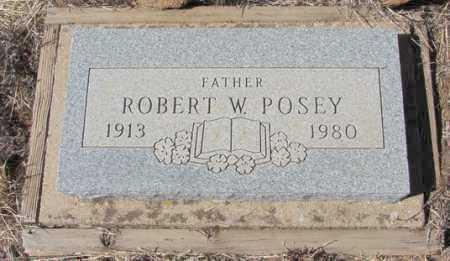 POSEY, ROBERT W. - Yavapai County, Arizona | ROBERT W. POSEY - Arizona Gravestone Photos