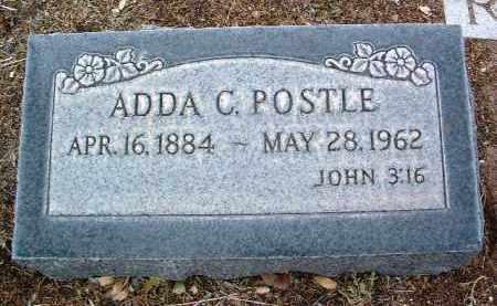POSTLE, ADDA M. C. - Yavapai County, Arizona   ADDA M. C. POSTLE - Arizona Gravestone Photos