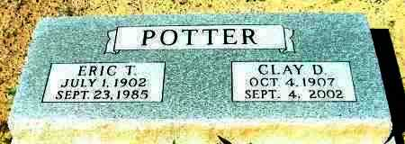 CARTER POTTER, CLAY - Yavapai County, Arizona | CLAY CARTER POTTER - Arizona Gravestone Photos