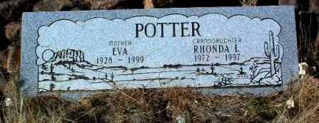 POTTER, EVA - Yavapai County, Arizona | EVA POTTER - Arizona Gravestone Photos
