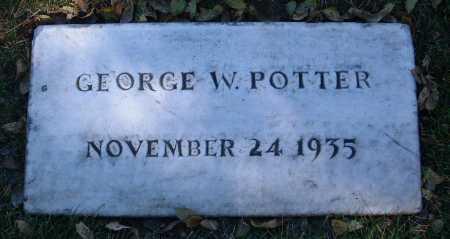 POTTER, GEORGE WILLIAM - Yavapai County, Arizona | GEORGE WILLIAM POTTER - Arizona Gravestone Photos