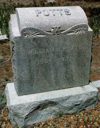 POTTS, WILLIAM H. - Yavapai County, Arizona   WILLIAM H. POTTS - Arizona Gravestone Photos