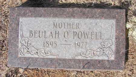 GREGORY POWELL, BEULAH O. - Yavapai County, Arizona | BEULAH O. GREGORY POWELL - Arizona Gravestone Photos