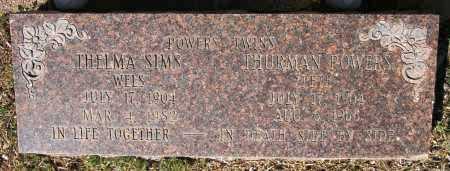 POWERS, THURMAN - Yavapai County, Arizona | THURMAN POWERS - Arizona Gravestone Photos