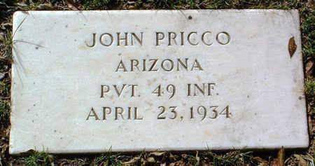 PRICCO, JOHN - Yavapai County, Arizona | JOHN PRICCO - Arizona Gravestone Photos