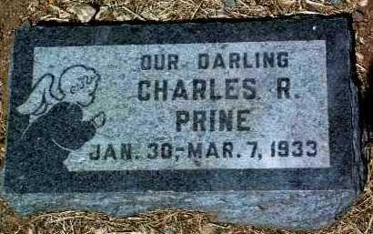 PRINE, CHARLES RICHARD - Yavapai County, Arizona | CHARLES RICHARD PRINE - Arizona Gravestone Photos