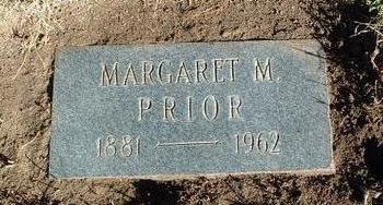 PRIOR, MARGARET MARY - Yavapai County, Arizona | MARGARET MARY PRIOR - Arizona Gravestone Photos