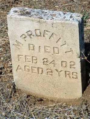 PROFFITT, M. - Yavapai County, Arizona | M. PROFFITT - Arizona Gravestone Photos