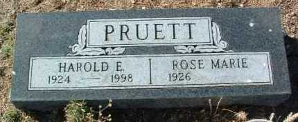 PRUETT, ROSE MARIE - Yavapai County, Arizona | ROSE MARIE PRUETT - Arizona Gravestone Photos
