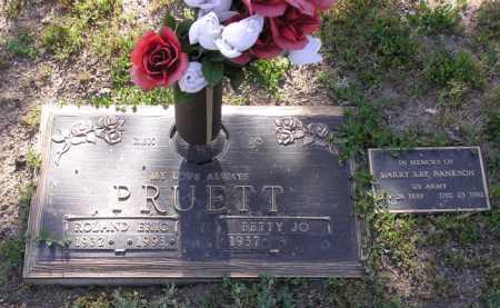 PRUETT, ROLAND ERIC (REX) - Yavapai County, Arizona | ROLAND ERIC (REX) PRUETT - Arizona Gravestone Photos