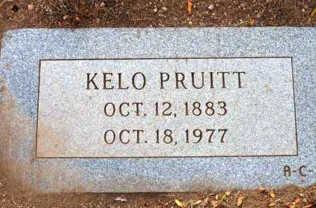 PRUITT, KELO - Yavapai County, Arizona | KELO PRUITT - Arizona Gravestone Photos