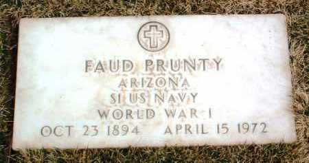 PRUNTY, FAUD - Yavapai County, Arizona | FAUD PRUNTY - Arizona Gravestone Photos