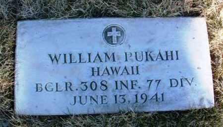 PUKAHI, WILLIAM - Yavapai County, Arizona   WILLIAM PUKAHI - Arizona Gravestone Photos