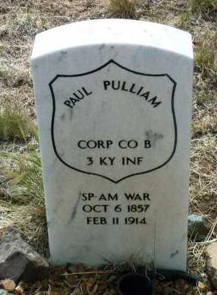PULLIAM, PAUL - Yavapai County, Arizona | PAUL PULLIAM - Arizona Gravestone Photos