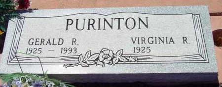 MOSER PURINTON, VIRGINIA - Yavapai County, Arizona | VIRGINIA MOSER PURINTON - Arizona Gravestone Photos